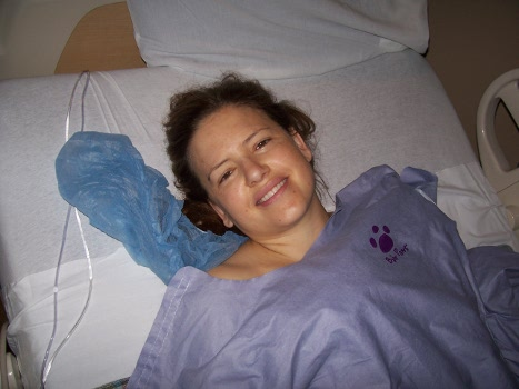A smile like that after a 6 hour surgery. Inspiring!
